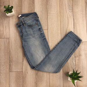 J. Crew | Light/Medium Wash Denim Jeans